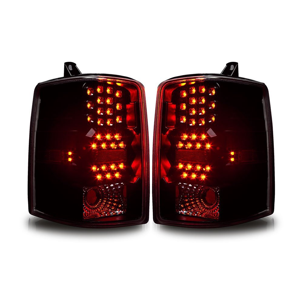 97 98 jeep grand cherokee euro style led tail lights - 2015 jeep grand cherokee led interior lights ...