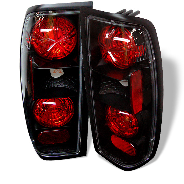 98-04 Nissan Frontier Euro Altezza Tail Lights - Black  sc 1 st  ProTuningLab.com & 98-04 Nissan Frontier Euro Altezza Tail Lights - Black 111-NF98-BK ...