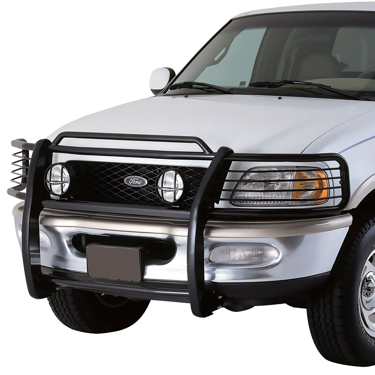 99 F150 Black: 99-02 Ford Expedition / 99-03 F150 / F250 2WD Front Bumper