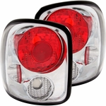 99-04 CHEVY SILVERADO STEPSIDE EURO ALTEZZA TAIL LIGHTS - CHROME