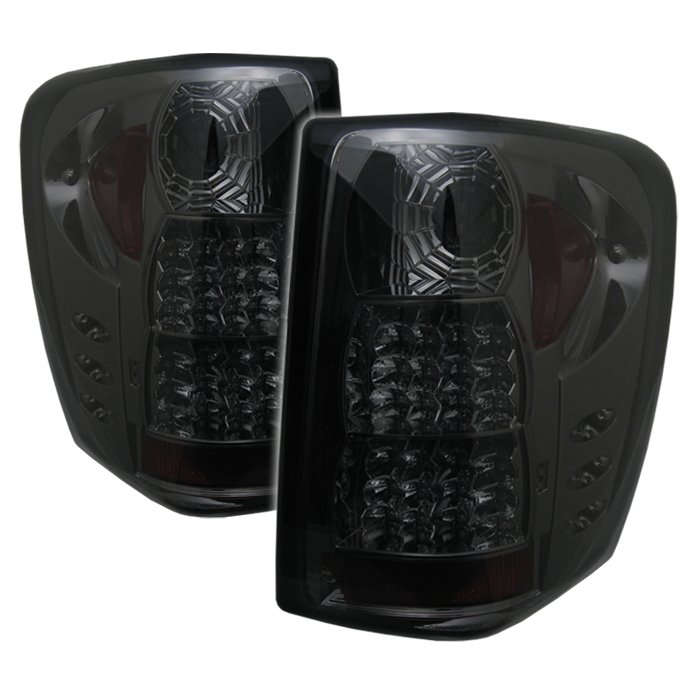 99 04 Jeep Grand Cherokee Altezza Led Tail Lights Smoked
