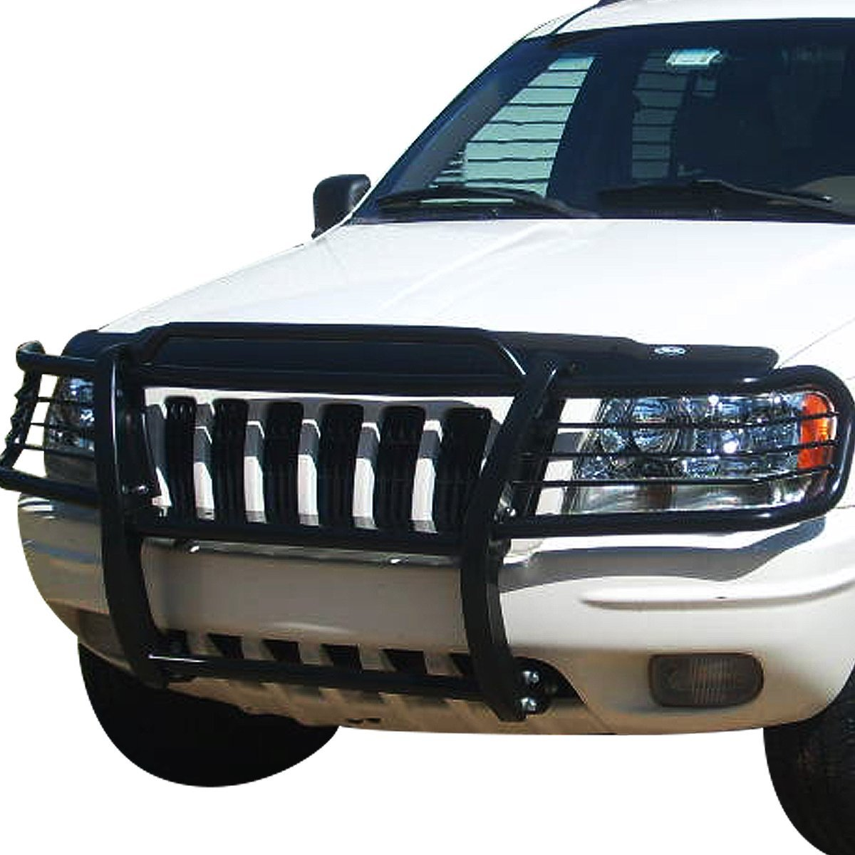 Jeep Grill Guards And Bumpers : Jeep grand cherokee wj front bumper protector brush