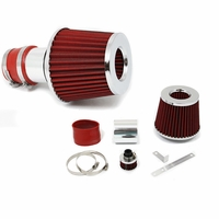 99-05 Audi TT / VW Golf Jetta Beetle Short RAM Air Induction Intake - Red Filter