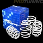 "99-05 BMW E46 325/328 3-Series 1.5""Drop Suspension Racing Lowering Springs - White"