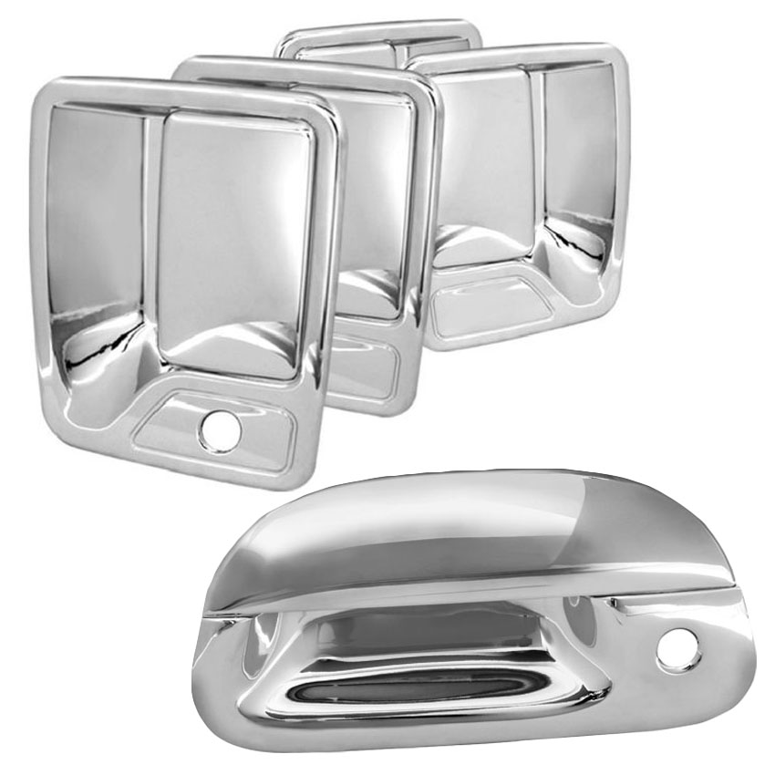 99-07 Ford F250 / F350 Superduty Chrome Door Handle Covers + Tail Gate Cover - Set  sc 1 st  ProTuningLab.com & 99-07 Ford F250 / F350 Superduty Chrome Door Handle Covers + Tail ...