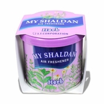 AIR FRESHENER - MY SHALDAN - 80G ROUND CAN - HERB SCENT