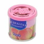 AIR FRESHENER - MY SHALDAN - 80G ROUND CAN - PEACH SCENT