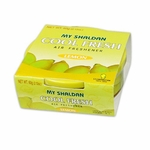 AIR FRESHENER - MY SHALDAN - COOL FRESH - 2.12 OZ. SMALL CAN - LEMON SCENT