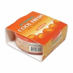 AIR FRESHENER - MY SHALDAN - COOL FRESH - 2.12 OZ. SMALL CAN - ORANGE SCENT