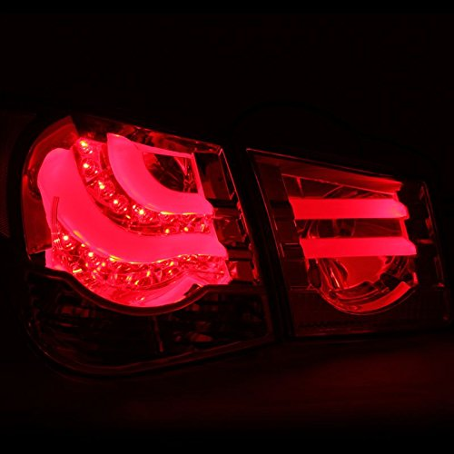 Cg 2011 2013 Chevy Cruze Euro Style Led Tail Lights Smoked
