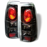 Chevy Silverado 99-02 Altezza Tail Lights - Black ALT-YD-CS99-BK By Spyder
