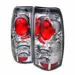 Chevy Silverado 99-02 Altezza Tail Lights - Chrome ALT-YD-CS99-C By Spyder