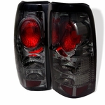 Chevy Silverado 99-02 Altezza Tail Lights - Smoked ALT-YD-CS99-SM By Spyder