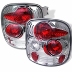 Chevy Silverado Stepside 99-04 Altezza Tail Lights - Chrome ALT-YD-CS99STS-C By Spyder