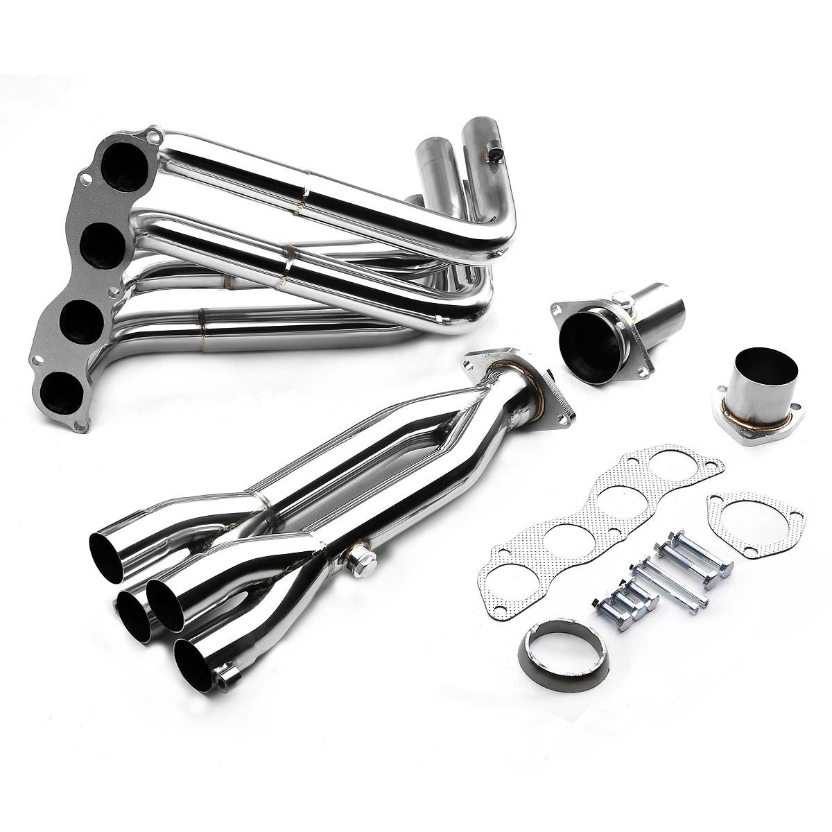 Acura TSX CL Stainless TRIY Racing Exhaust Header - Acura tsx accessories