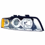 EagleEye 02-05 Audi A4/S4 Gen2 Replacement Headlight - Right Passenger Side
