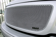 Grillcraft Mx-Series For-1302-S 99-03 Ford F150 Grille Upper Silver