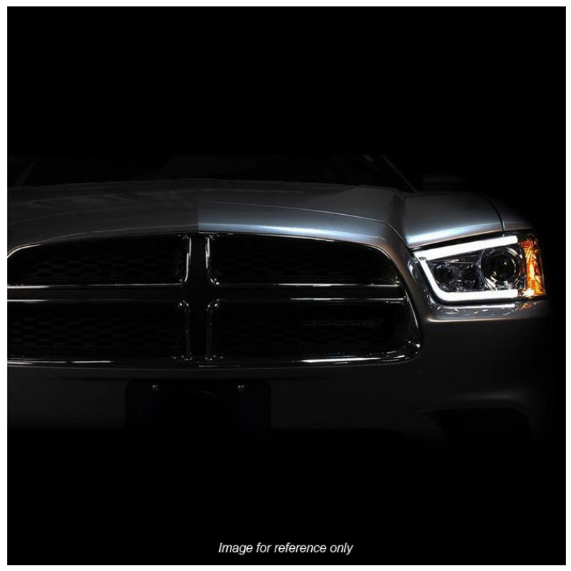 hid version 2011 2013 dodge charger led drl tube projector headlights chrome 45 version 2011 2014 dodge charger led drl tube projector headlights spyder headlight wiring harness at suagrazia.org