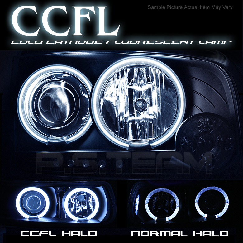 Mercedes benz w203 c class 01 05 halo projector headlights for Mercedes benz headlights