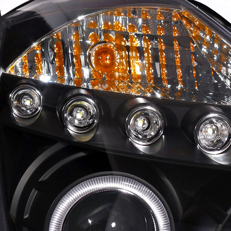 hid xenon 03 05 nissan 350z halogen model angel eye halo led drl projector headlights black 84 2005 nissan 350z headlight wiring diagram nissan relay diagram 2005 nissan 350z headlight wiring diagram at aneh.co