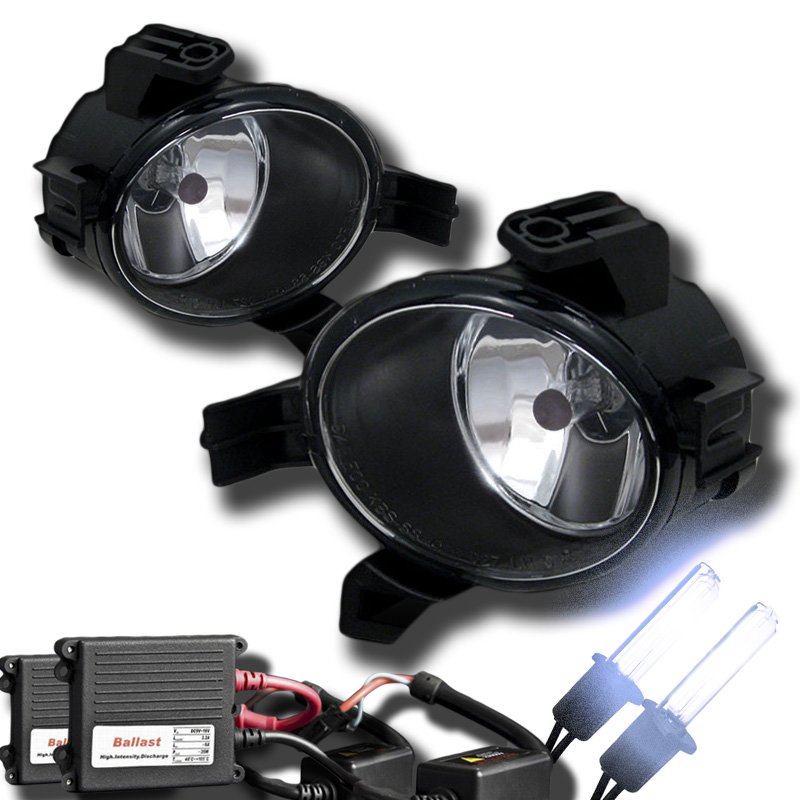 Hid Xenon   Winjet 2005-2006 Nissan Altima Oem Style Fog Lights -  Clear