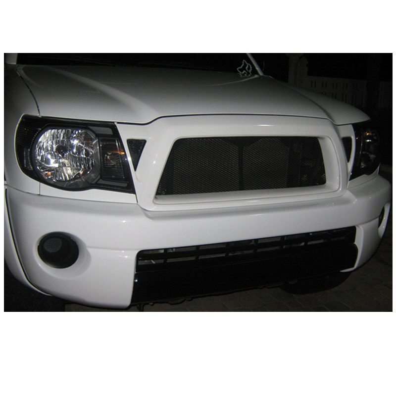 Hid xenon 05 11 toyota tacoma pickup crystal headlights black publicscrutiny Image collections