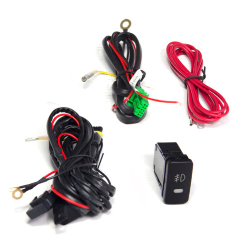 hid xenon 05 12 toyota tacoma pickup truck fog lights kit clear tacoma fog light wiring harness at Tacoma Fog Light Wiring Harness