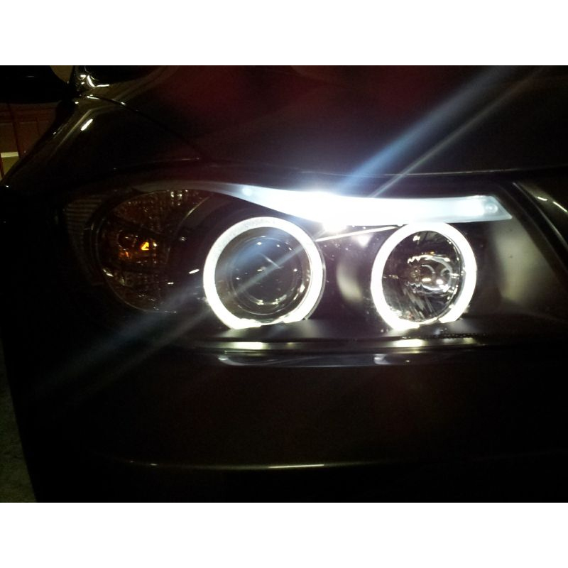 Hid Xenon 06 08 Bmw E90 3 Series Sedan Angel Eye Halo