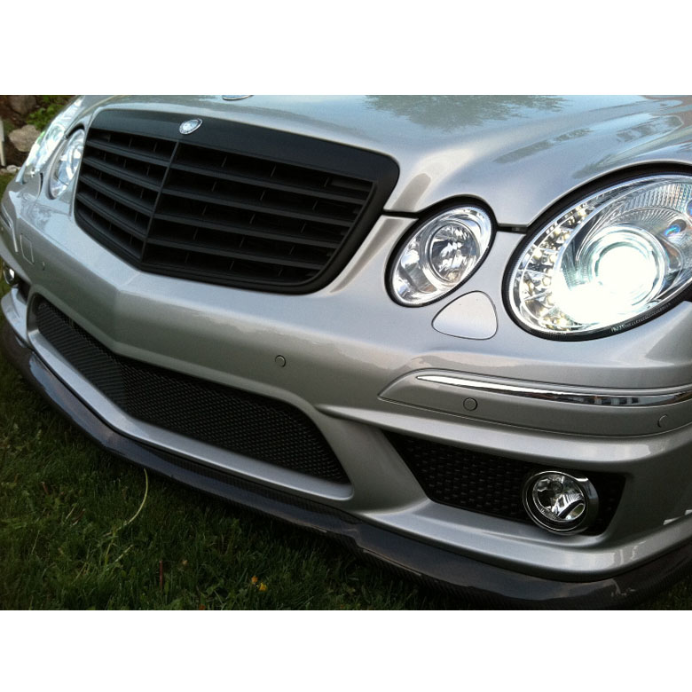 hid xenon 07 09 mercedes benz e class w211 drl led. Black Bedroom Furniture Sets. Home Design Ideas