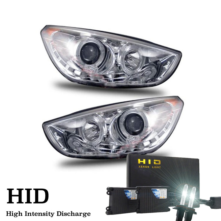 hid xenon 10 12 hyundai tucson led drl projector. Black Bedroom Furniture Sets. Home Design Ideas