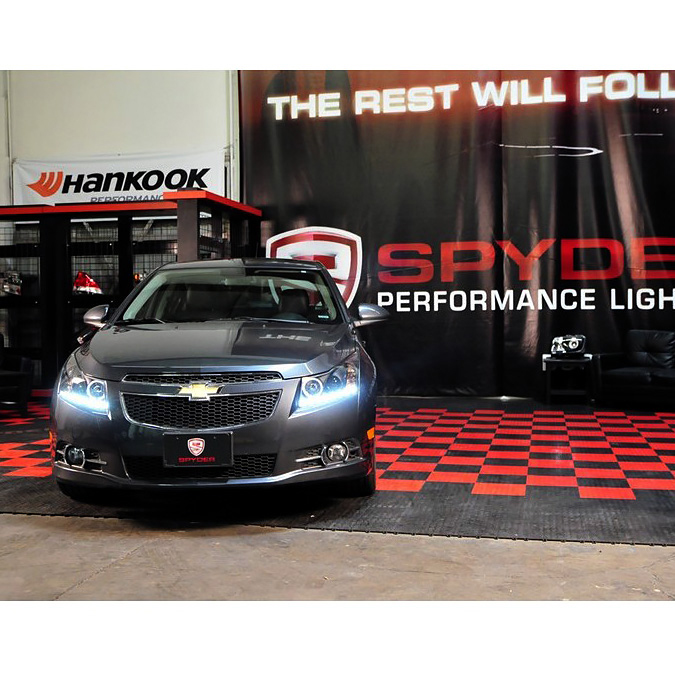 hid xenon 11 13 chevy cruze angel eye halo led drl projector headlights black 37 xenon 11 13 chevy cruze led drl projector headlights black 2011 chevy cruze headlight wiring harness at webbmarketing.co