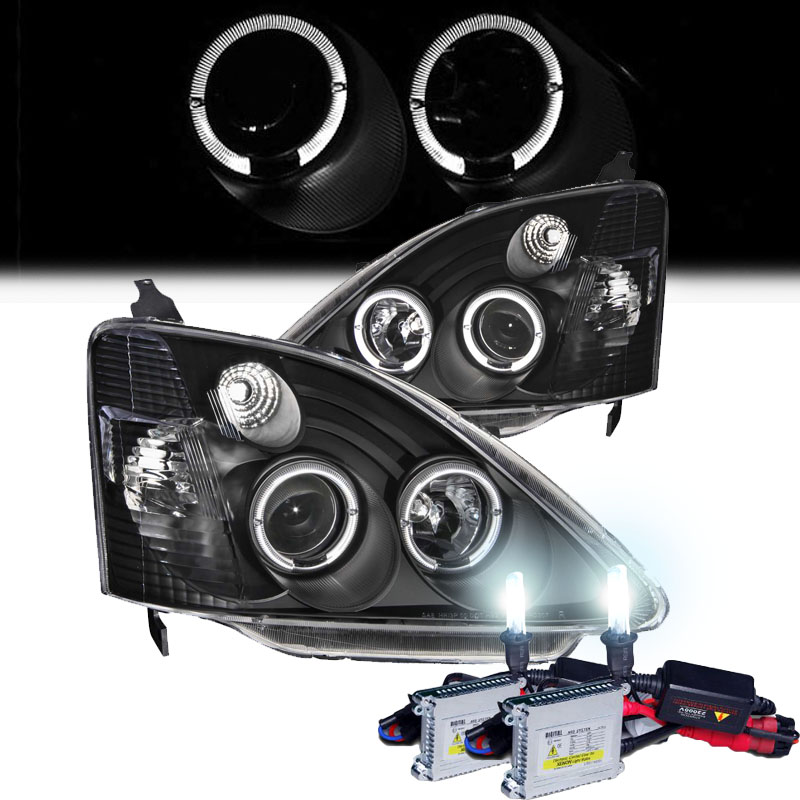 hid xenon 2002 2003 honda civic si ep3 dual angel eye. Black Bedroom Furniture Sets. Home Design Ideas
