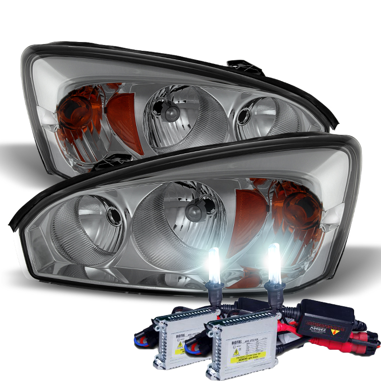 HID Xenon + 2004-2008 Chevy Malibu Replacement Crystal