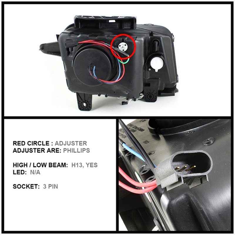 hid xenon 2010 2013 chevy camaro dual angel eye halo. Black Bedroom Furniture Sets. Home Design Ideas