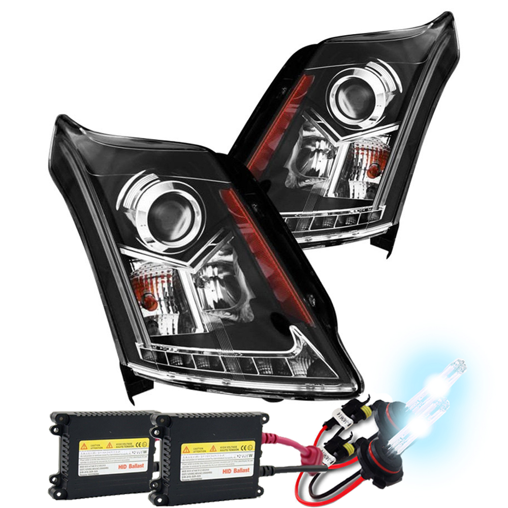 HID Xenon + 2010-2014 Cadillac SRX [Without Factory HID