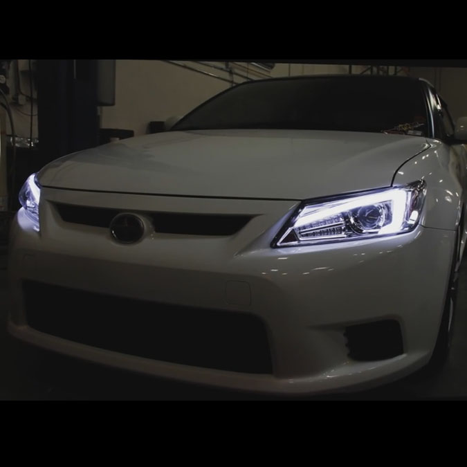 Worksheet. Xenon  20112013 Scion tC OpticStyle LED DRL Projector