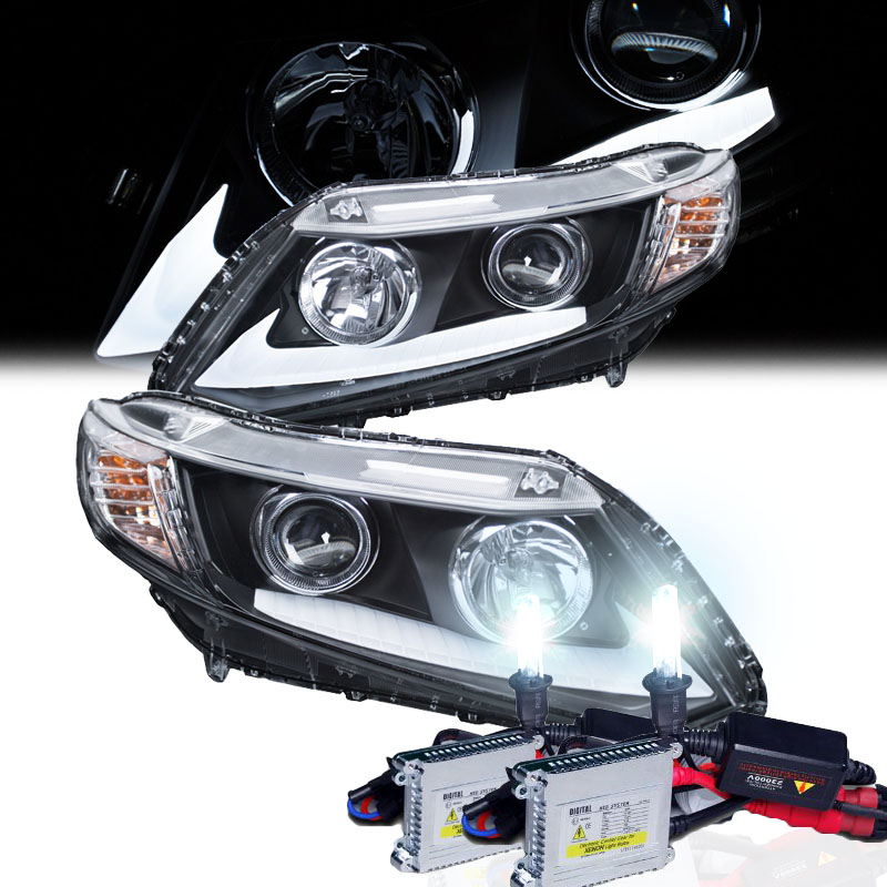 die fahrzeuge werden xenon headlights 2012 honda civic. Black Bedroom Furniture Sets. Home Design Ideas