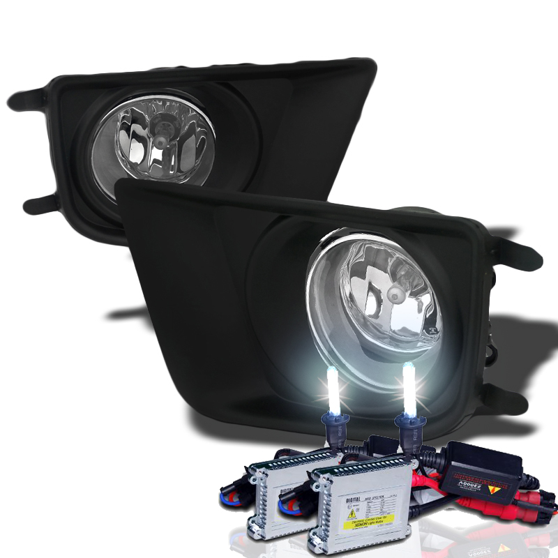 hid xenon 2012 2013 toyota tacoma pickup oem style fog lights kit clear 12 hid xenon 2012 2014 toyota tacoma pickup oem style fog lights tacoma fog light wiring harness at bayanpartner.co
