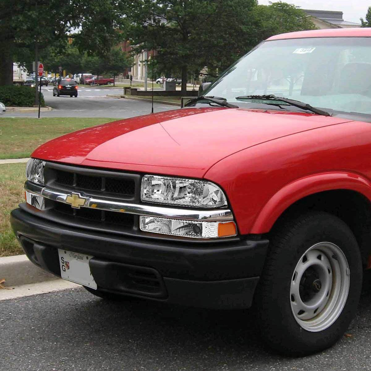 Hid Xenon 98 04 Chevy S10 Blazer Replacement Crystal