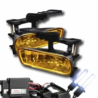 HID Xenon + 99-06 Chevy Silverado / Suburban / Tahoe / Escalade OEM Replacement Fog Lights - Yellow