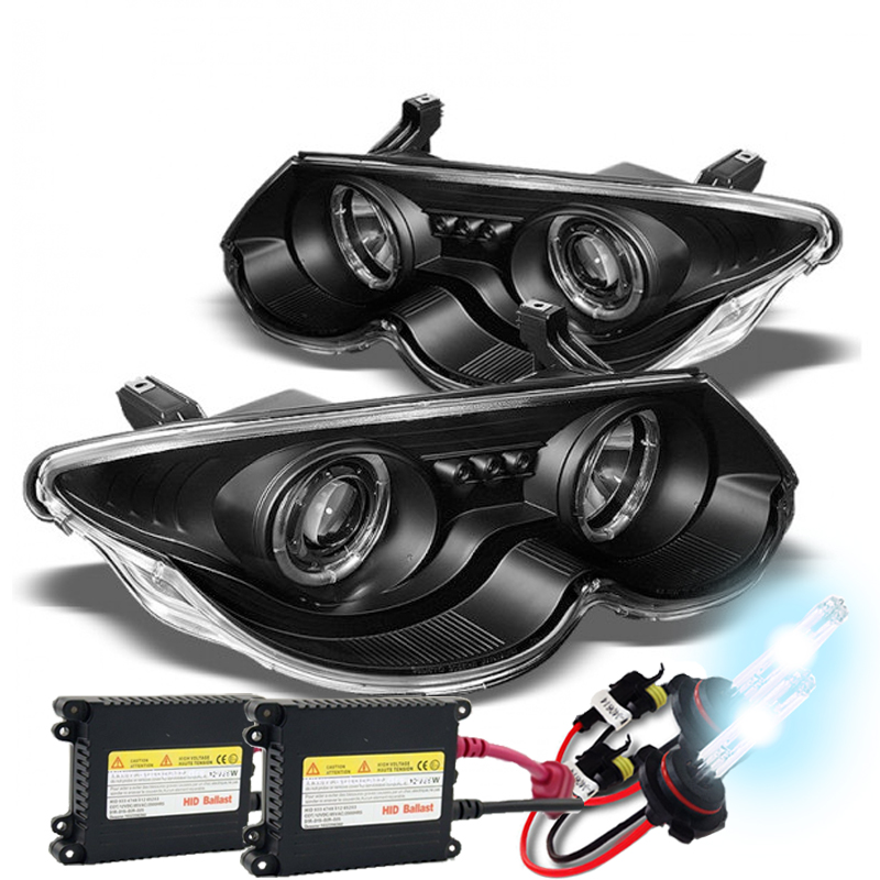 HID Xenon + 99-04 Chrysler 300M Angel Eye Halo & LED