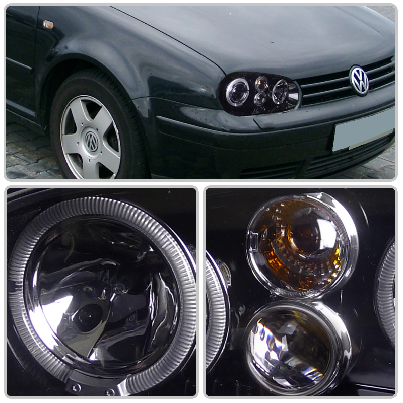 hid xenon 99 05 volkswagen golf gti mk4 angel eye halo. Black Bedroom Furniture Sets. Home Design Ideas