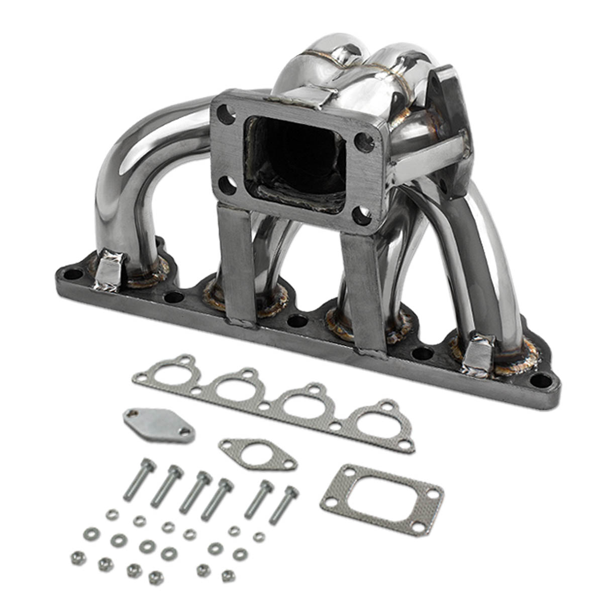 Honda D-Series D15 D16 T3 / T4 Stainless Turbo Manifold