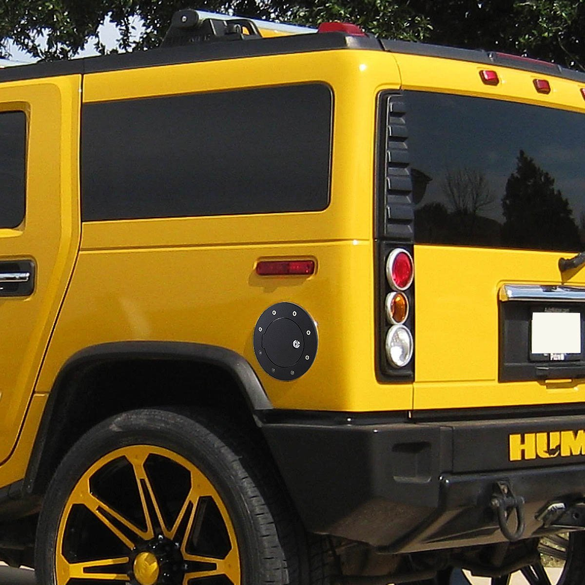 Hummer H2 Sut For Sale >> Hummer H2 GMT913 SUT Fuel Gas Tank Door with Lock & Keys ...