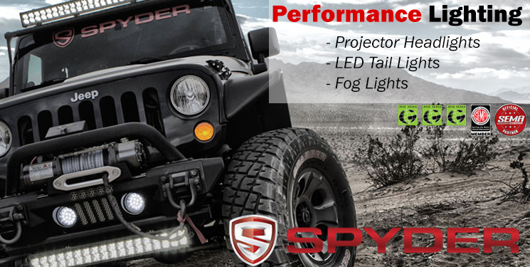 Spyder Auto Lighting