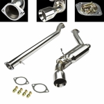 J2 07-13 Infiniti G37 Coupe Single Performance Catback Exhaust