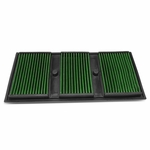 Mercedes C300 / E350 / GLE400 / GLK350 Reusable & Washable Replacement Engine High Flow Drop-in Air Filter (Green)