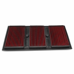 Mercedes C300 / E350 / GLE400 / GLK350 Reusable & Washable Replacement Engine High Flow Drop-in Air Filter (Red)