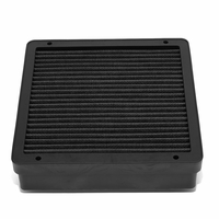 Mitsubishi Lancer / Mirage / Outlander Reusable & Washable Replacement Engine High Flow Drop-in Air Filter (Black)