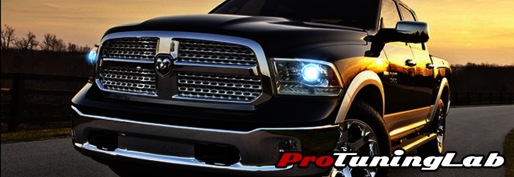 Dodge Ram Pickup Truck Halo & LED Projector Headlights